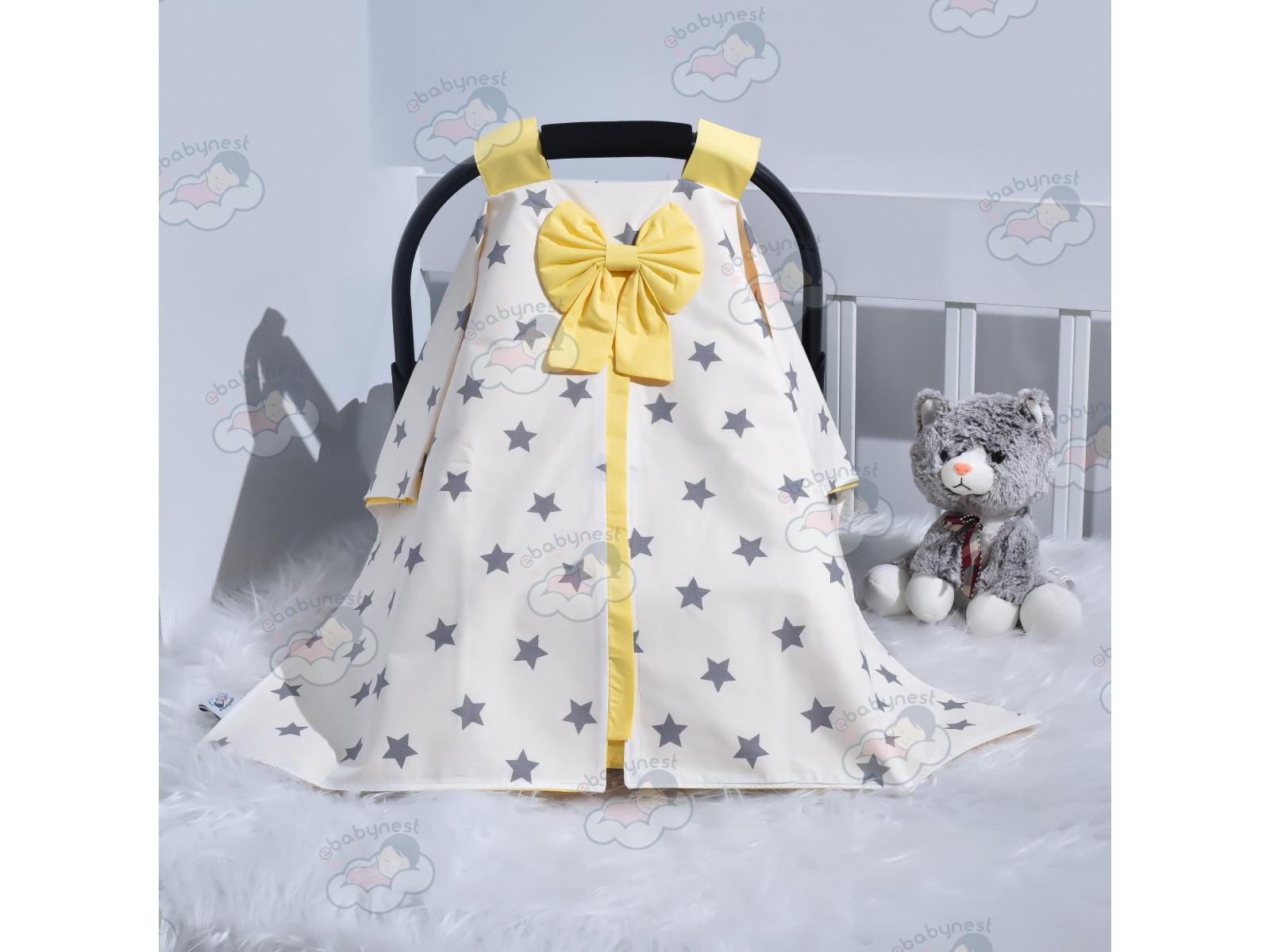 Big Star Series Yellow Stroller Cover