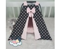 Star Series Back Star Pink Combine Stroller Cover
