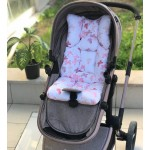 Butterfly Series Powder Stroller Bottom Cushion