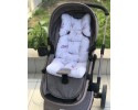 Butterfly Series Powder Stroller Bottom Cushion v2