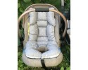Galaxy Series Gray Stroller Bottom Cushion