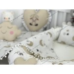 Moonlight Series Cappuccino White Babynest Set