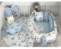 Moonlight Series Blue Babynest Set