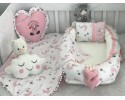 Moonlight Series Pink White Babynest Set