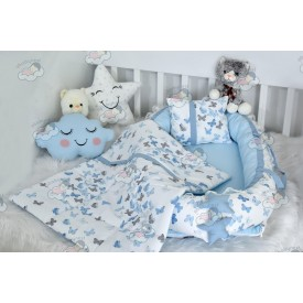 Butterfly Series Blue Babynest Set v2