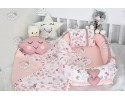 Butterfly Series Powder Babynest Set v5 Ponpons