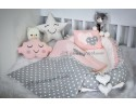 Star Series Gray Babynest Set Heart Design