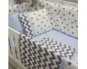 Grey Star Blue Combine Sleep Set